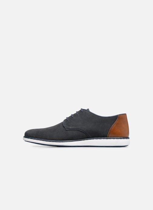 Lace-up shoes Rieker Egbert 17833 Blue front view