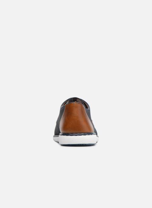 Zapatos con cordones Rieker Egbert Azul vista lateral derecha