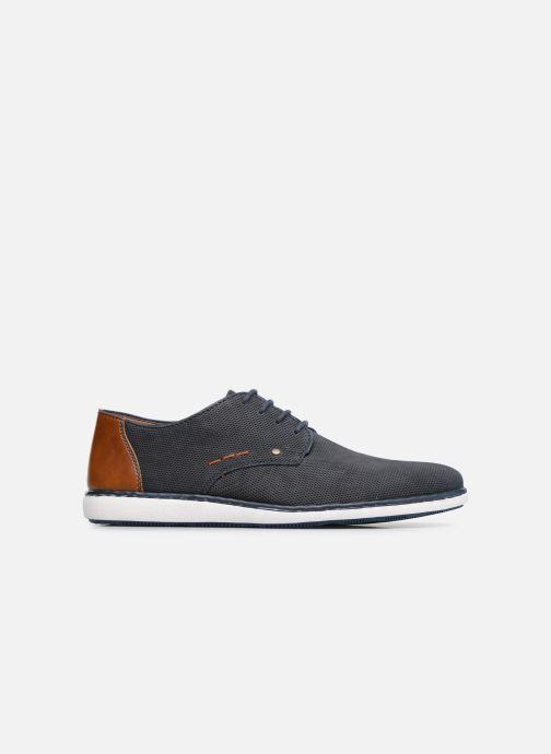 Lace-up shoes Rieker Egbert 17833 Blue back view