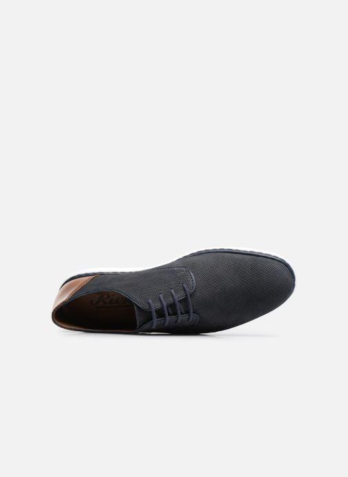 Chaussures à lacets Rieker Egbert 17833 Bleu vue gauche