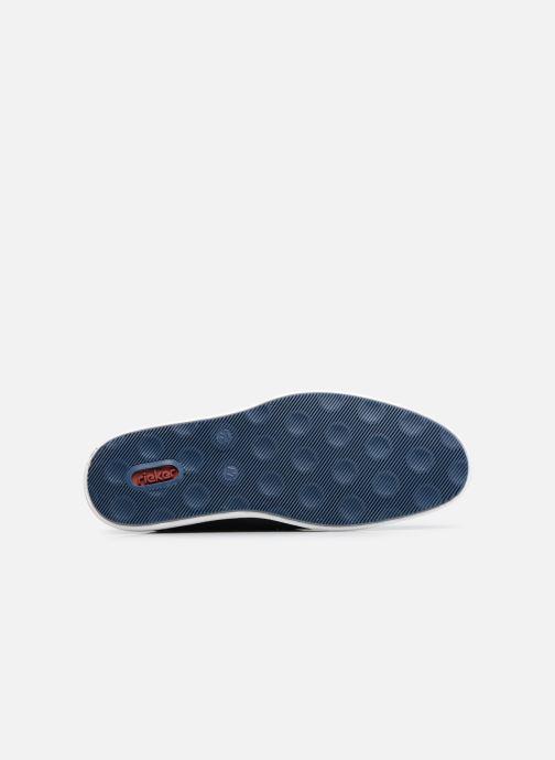 Zapatos con cordones Rieker Egbert Azul vista de arriba