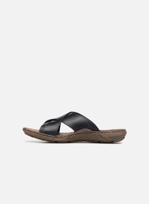 Sandali e scarpe aperte Rieker Frem 22079 Nero immagine frontale