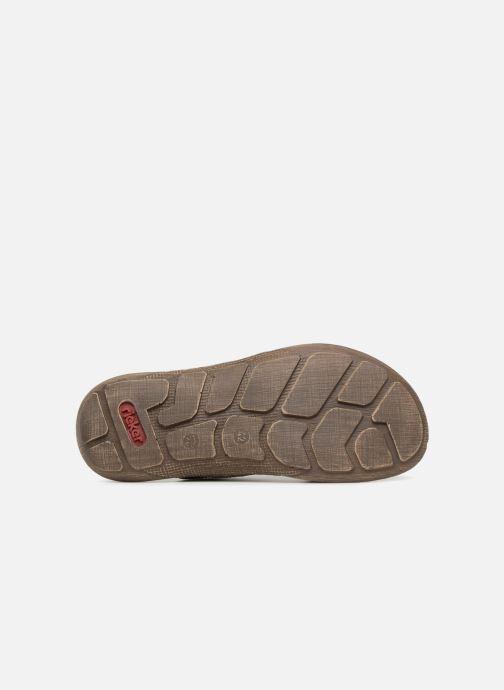 Sandali e scarpe aperte Rieker Frem 22079 Nero immagine dall'alto