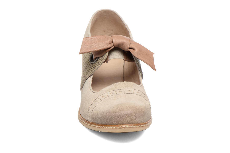 High heels Dkode Valeria Beige model view