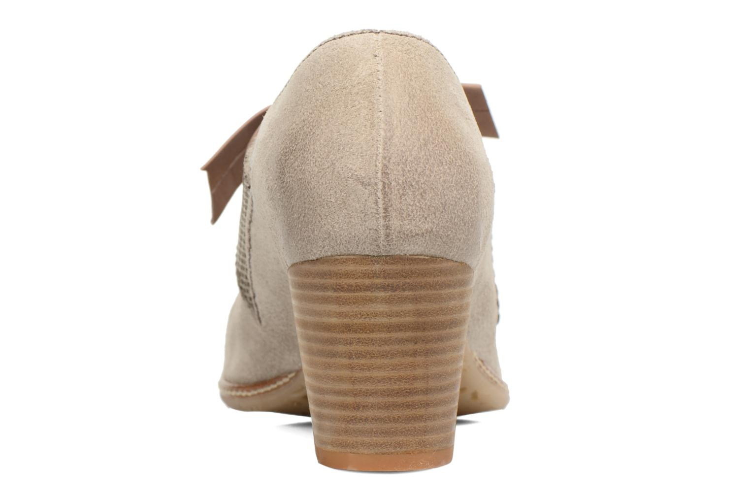 High heels Dkode Valeria Beige view from the right