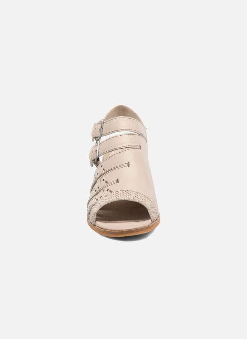 Sandales et nu-pieds Dkode Genna Beige vue portées chaussures