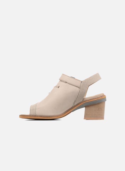 Sandales et nu-pieds Dkode Genna Beige vue face