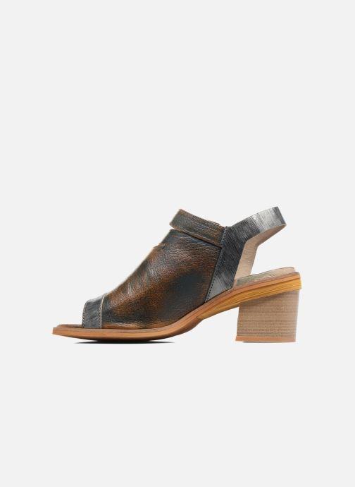 Sandales et nu-pieds Dkode Genna Bleu vue face