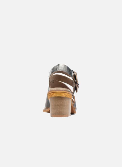 Sandales et nu-pieds Dkode Genna Bleu vue droite
