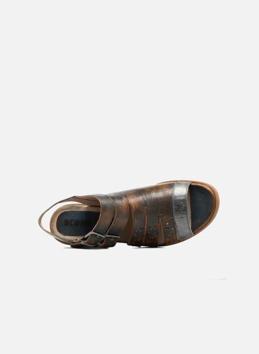 Sandales et nu-pieds Dkode Genna Bleu vue gauche