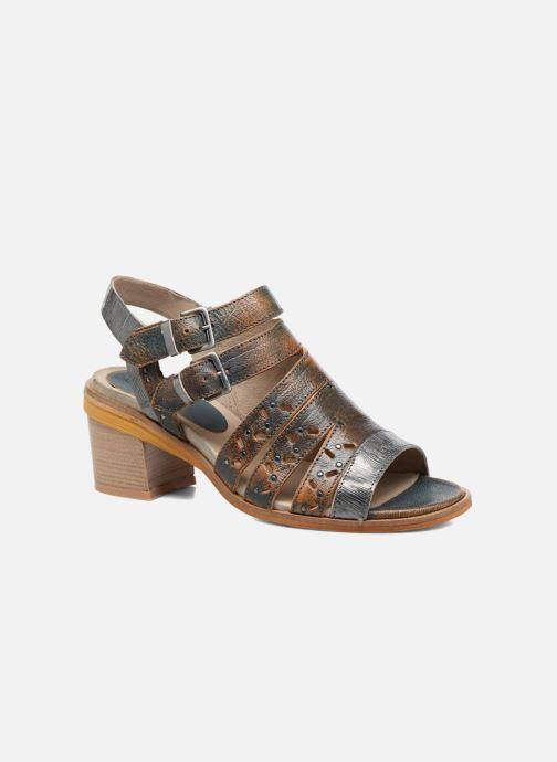Sandales et nu-pieds Dkode Genna Bleu vue détail/paire