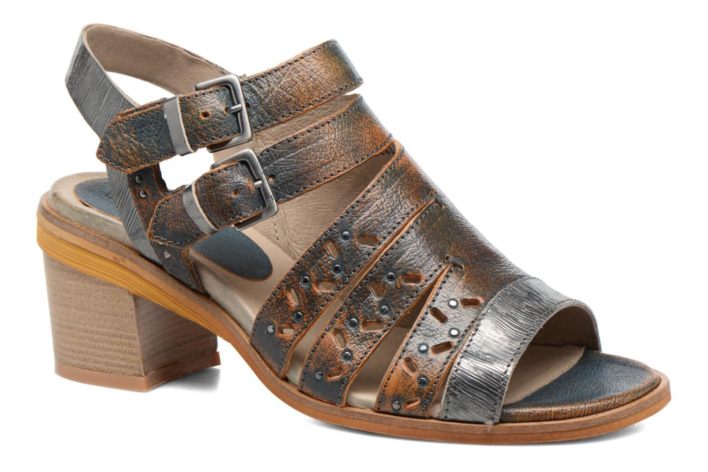 Sandaler Dkode Genna Blå detaljeret billede af skoene