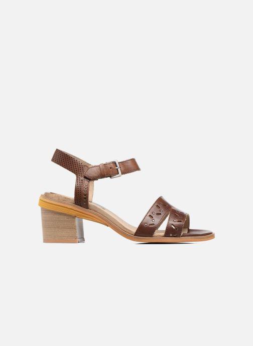 Sandales et nu-pieds Dkode Grazia Marron vue derrière