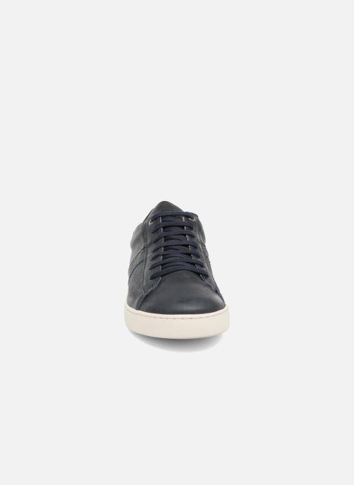Baskets Kost Telki Bleu vue portées chaussures