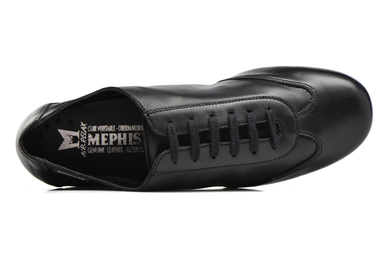 Chaussures à lacets Mephisto Becky Noir vue gauche