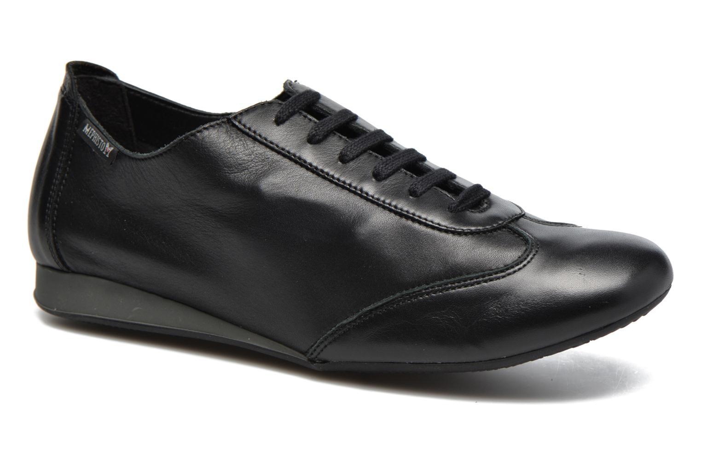 Chaussures à lacets Mephisto Becky Noir vue détail/paire