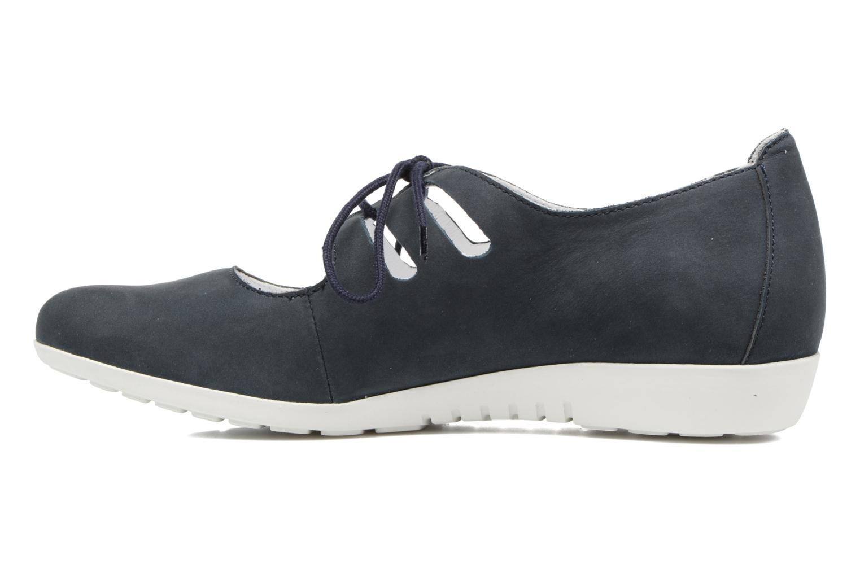 Chaussures à lacets Mephisto Darya Bleu vue face