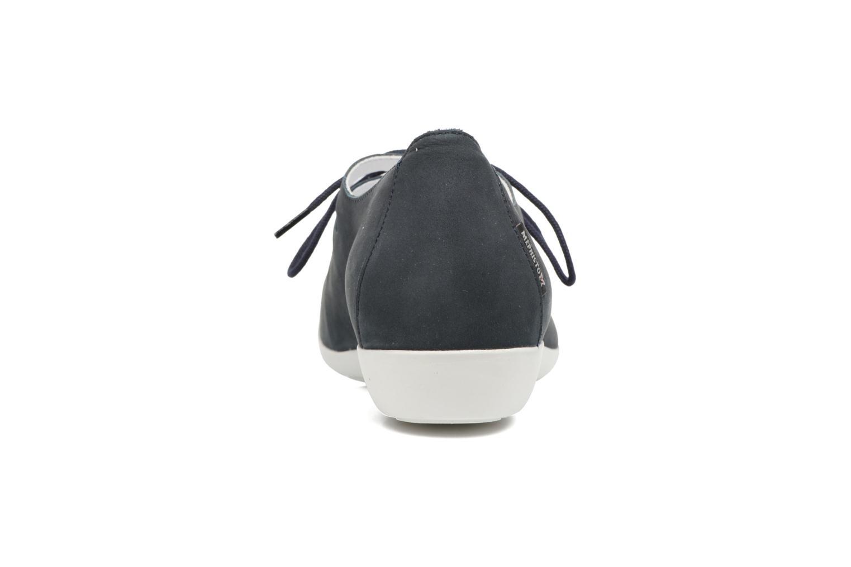 Chaussures à lacets Mephisto Darya Bleu vue droite