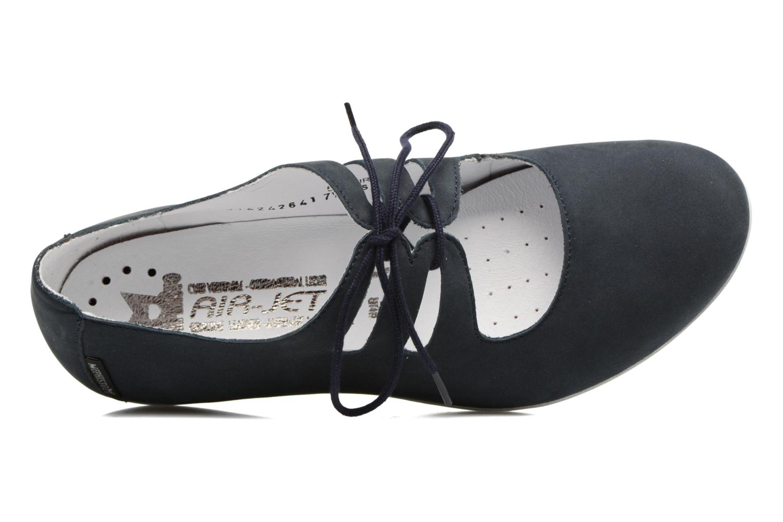 Chaussures à lacets Mephisto Darya Bleu vue gauche