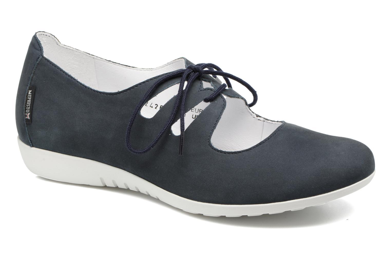 Chaussures à lacets Mephisto Darya Bleu vue détail/paire