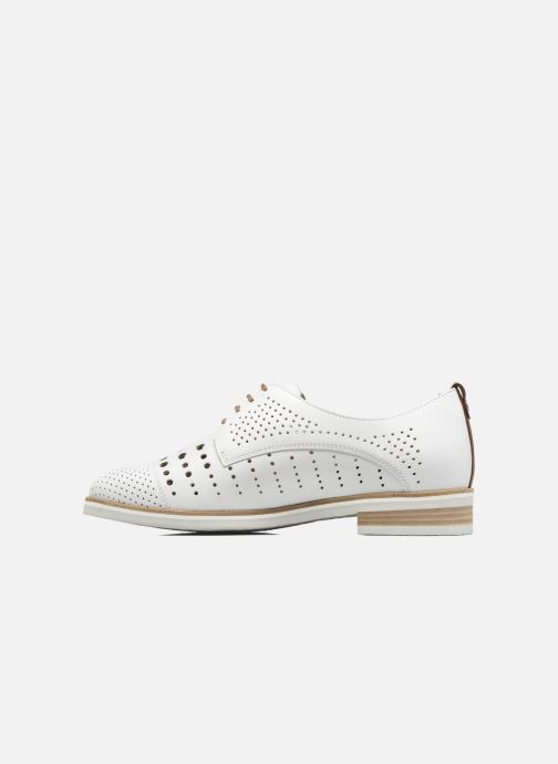 Chaussures à lacets Mephisto Pearl perf Blanc vue face