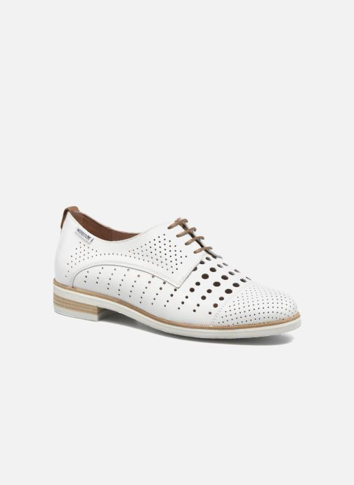 ddde2cc9253 Mephisto Pearl perf (White) - Lace-up shoes chez Sarenza (294833)