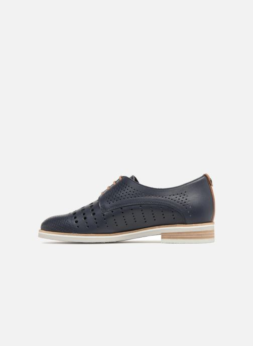 Chaussures à lacets Mephisto Pearl perf Bleu vue face