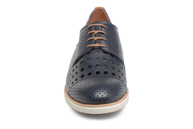 Chaussures à lacets Mephisto Pearl perf Bleu vue portées chaussures