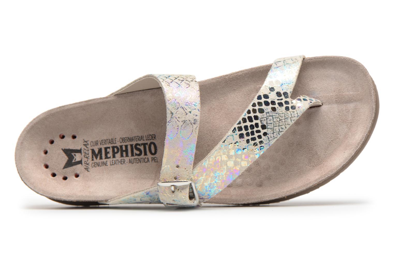 Sandales et nu-pieds Mephisto Helen Multicolore vue gauche