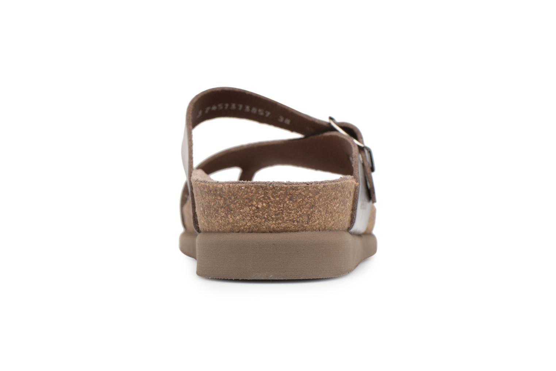 Sandales et nu-pieds Mephisto Helen Or et bronze vue droite