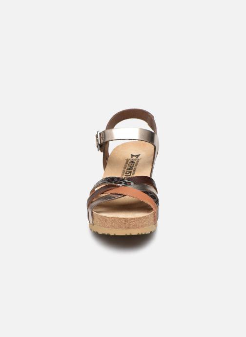 Sandales et nu-pieds Mephisto Lanny C Argent vue portées chaussures