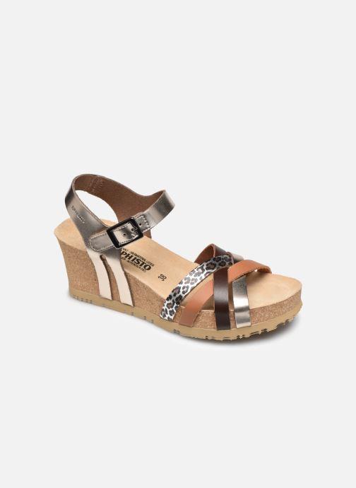 Sandales et nu-pieds Mephisto Lanny C Argent vue détail/paire
