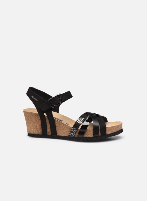 Sandales et nu-pieds Mephisto Lanny C Noir vue derrière