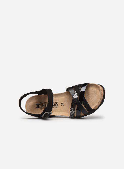 Sandales et nu-pieds Mephisto Lanny C Noir vue gauche
