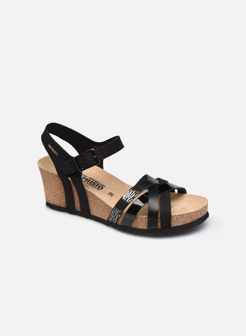 Sandales et nu-pieds Mephisto Lanny C Noir vue détail/paire