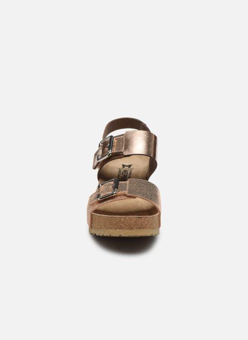 Sandales et nu-pieds Mephisto Lissandra Rose vue portées chaussures