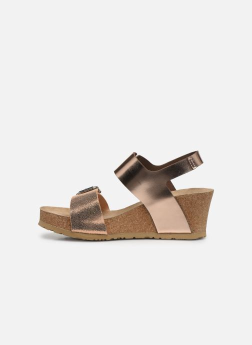 Sandales et nu-pieds Mephisto Lissandra Rose vue face
