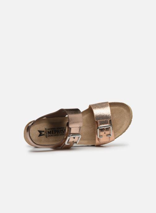 Sandales et nu-pieds Mephisto Lissandra Rose vue gauche