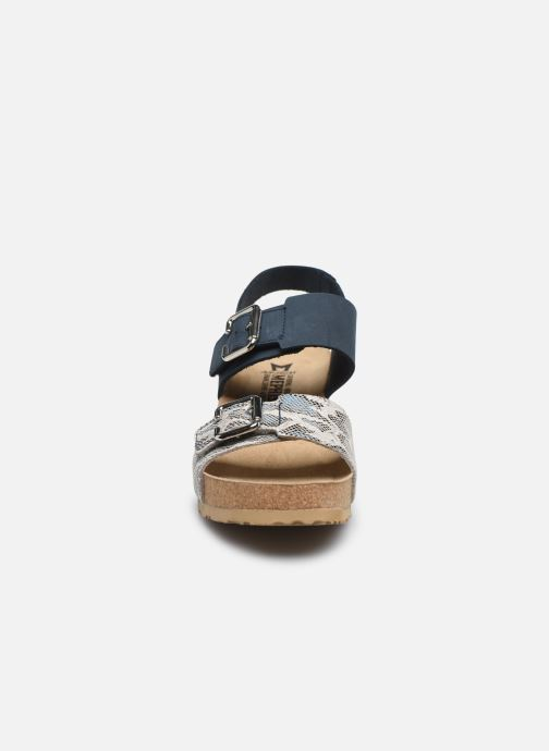 Sandales et nu-pieds Mephisto Lissandra Bleu vue portées chaussures