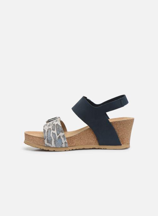 Sandales et nu-pieds Mephisto Lissandra Bleu vue face