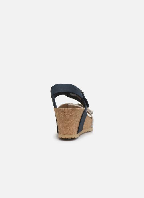 Sandales et nu-pieds Mephisto Lissandra Bleu vue droite