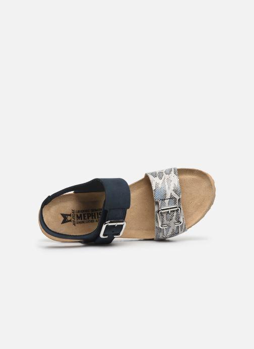 Sandali e scarpe aperte Mephisto Lissandra Azzurro immagine sinistra