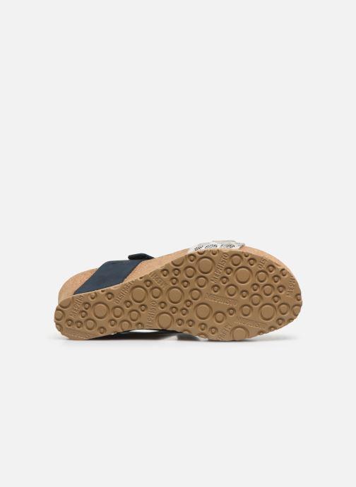 Sandales et nu-pieds Mephisto Lissandra Bleu vue haut