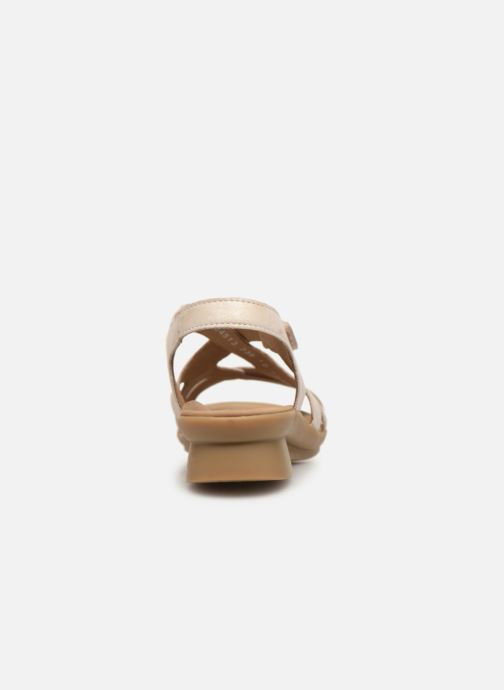 Sandales et nu-pieds Mephisto Parcela Beige vue droite