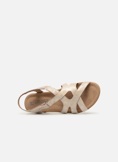 Sandales et nu-pieds Mephisto Parcela Beige vue gauche