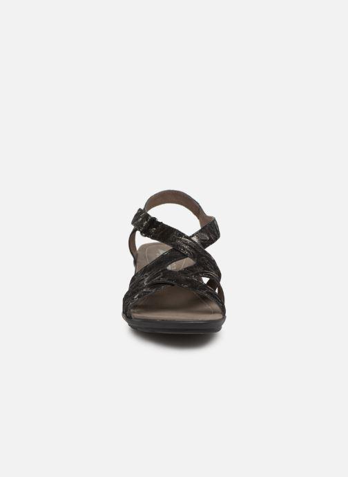 Sandales et nu-pieds Mephisto Parcela Noir vue portées chaussures