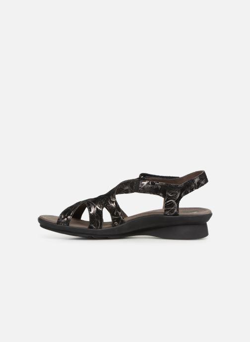 Sandales et nu-pieds Mephisto Parcela Noir vue face