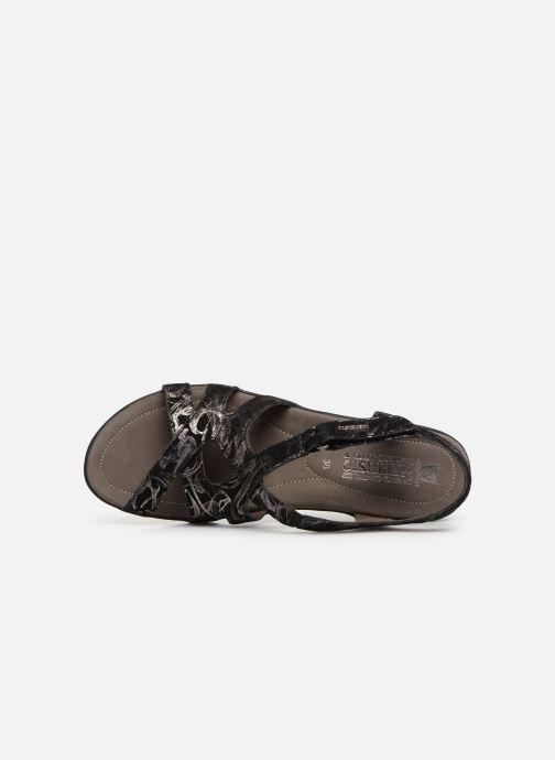 Sandales et nu-pieds Mephisto Parcela Noir vue gauche