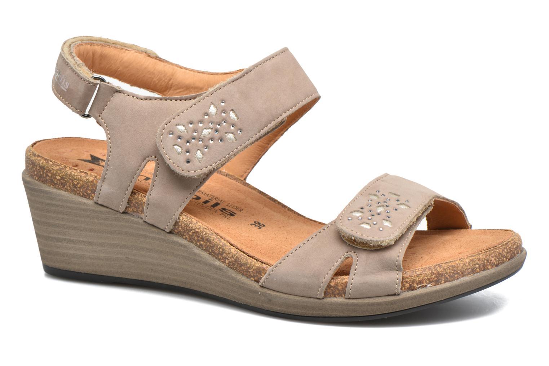 Sandales et nu-pieds Mephisto Willow Gris vue détail/paire