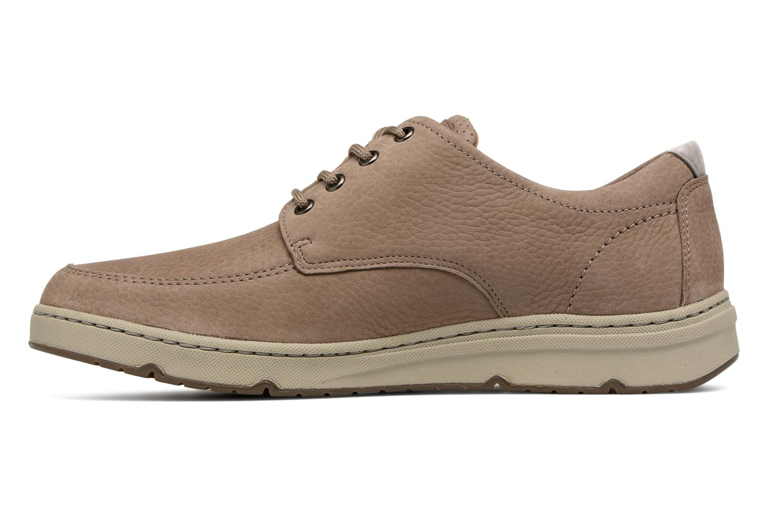 Lace-up shoes Mephisto Justin Beige front view